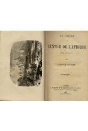 ROBERT Léopold - Un drame au Centre de l'Afrique. Roman géographique