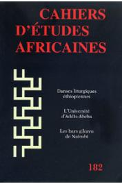 Cahiers d'études africaines - 182 - 'Aqwaqwam ou la danse des cieux / A Mosque in a Mosque. Some Observations on the Rue Blanchot Mosque in Dakar & its Relation to Other Mosques in the Colonial Period, etc..