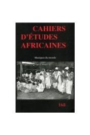 Cahiers d'études Africaines - 168, WHITE Bob. W. (sous la direction de) - Musiques du monde
