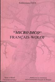 FAYE Souleymane - Micro Dico Français-Wolof