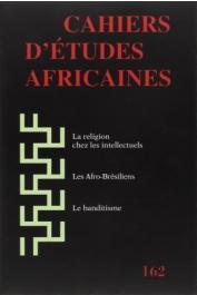 Cahiers d'études africaines - 162