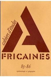Cahiers d'études africaines - 085/086