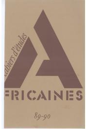 Cahiers d'études africaines - 089/090