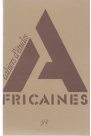 Cahiers d'études africaines - 091