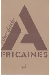 Cahiers d'études africaines - 096