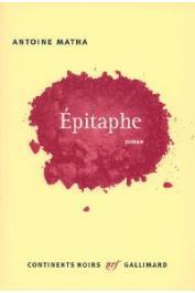 MATHA Antoine - Epitaphe