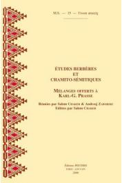CHAKER Salem, ZABORSKI A.  - Etudes berbères et chamito-sémitiques