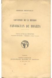 BROUSSEAU Georges - Souvenirs de la mission Savorgnan de Brazza