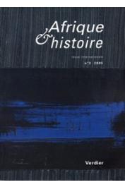 Afrique & Histoire - 03 - Dossier : Afriques romaines : impérialisme antique, imaginaire colonial (relectures et réflexions à l'école d'Yvon Thébert)