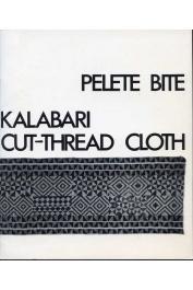 BUBOLZ EICHER Joanne, EREKOSIMA Tonye Victor - Pelete bite: Kalabari cut-thread cloth