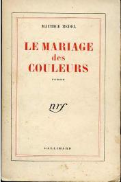 BEDEL Maurice - Le mariage des couleurs