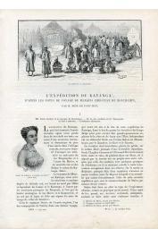 PONT-JEST René de - L'expédition du Katanga, d'après les notes de voyage du Marquis Christian de Bonchamps