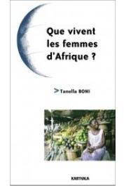 BONI Tanella Suzanne - Que vivent les femmes d'Afrique ?