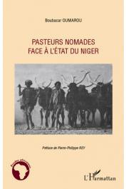 OUMAROU Boubacar - Pasteurs nomades face à l'Etat du Niger