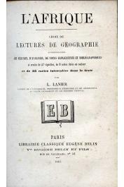 Lanier L. - L'Afrique. Choix de lectures de géographie