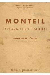 LABOURET Henri - Monteil, explorateur et soldat