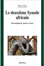 CHEZA Maurice - Le deuxième Synode africain. Réconciliation, Justice et Paix