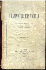 DELAUNAY Le Père - Grammaire Kiswahili