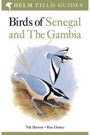 BORROW Nik, DEMEY Ron - Birds of Senegal and The Gambia