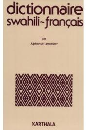 LENSELAER Alphonse - Dictionnaire Swahili-Français  (jaquette)