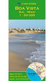 Cabo Verde - Boa Vista, Sal, Maio carte au  1:50.000 e