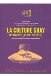 FAUVELLE-AYMAR François-Xavier, POISSONNIER Bertrand (sous la direction de) - La culture Shay d'Éthiopie (Xe-XIVe siècles). Recherches archéologiques et historiques sur une élite païenne
