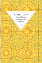 IGONI BARRETT A. - Love is power ou quelque chose comme ça
