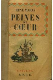 MARAN René - Peines de cœur