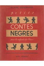 CENDRARS Blaise - Petits contes nègres pour les enfants des blancs
