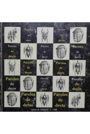 """Catalogue de l'exposition """"Paroles de devin. La fonte à la cire perdue chez les Sénoufo"""" présentée au Musée National des Arts d'Afrique et d'Océanie en 1988"""