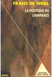 DE WAAL Frans - La politique du chimpanzé