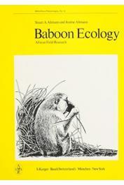 ALTMANN Stuart A., ALTMANN J. - Baboon Ecology. African Field Research