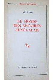 AMIN Samir - Le monde des affaires sénégalais