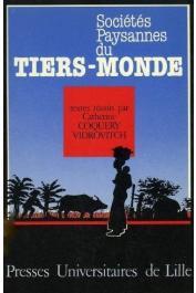 COQUERY-VIDROVITCH Catherine, (éditeur) - Sociétés paysannes du Tiers-Monde (première édition)