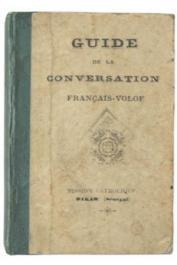 Guide de la conversation Français-Wolof