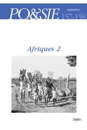 PO&SIE 157-158 (2016/ 3-4) - Afriques 2