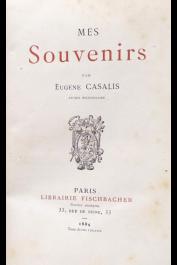 CASALIS Eugène - Mes souvenirs