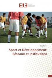 SANOU Mory - Sport et développement. Réseaux et institutions