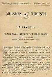 DALLONI Marius (sous la direction de) - Mission au Tibesti (1930-1931) en 2 volumes