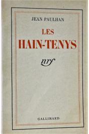 PAULHAN Jean - Les Hain-tenys