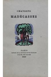 PARNY Evariste de (Chevalier), LABOUREUR J.-E. (illustrations) - Chansons madécasses, traduites en français par ___