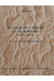 ROGNON Pierre - Le massif de l'Atakor et ses bordures (Sahara central). Etude géomorphologique