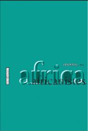 Journal des Africanistes - Tome 88 - fasc. 1 - 2018 - Varia