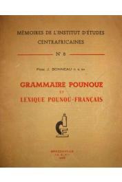 BONNEAU Joseph C. S. Sp - Grammaire Pounoue et lexique Pounou-Français