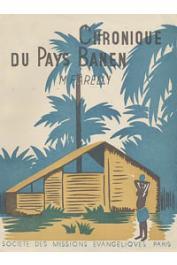 FARELLY Maurice - Chronique du pays Banen (au Cameroun)