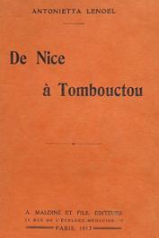 LENOEL Antonietta - De Nice à Tombouctou