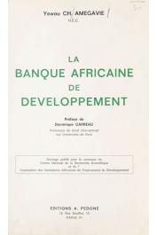 AMEGAVIE Yewou Charles - La Banque Africaine de Développement