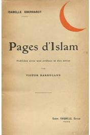 EBERHARDT Isabelle - Pages d'Islam