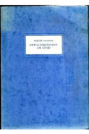 GUSINDE Martin - Urwaldmenschen am Ituri. Anthropo-biologische Forschungsergebnisse bei Pigmaën und Negern im östlichen Belgisch-Kongo aus den Jahren 1934/35