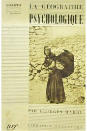 HARDY Georges - La géographie psychologique